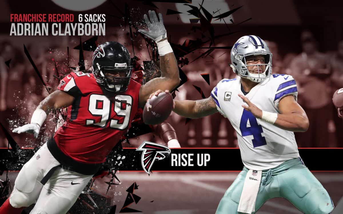 Adrian Clayborn Franchise Record Sacks