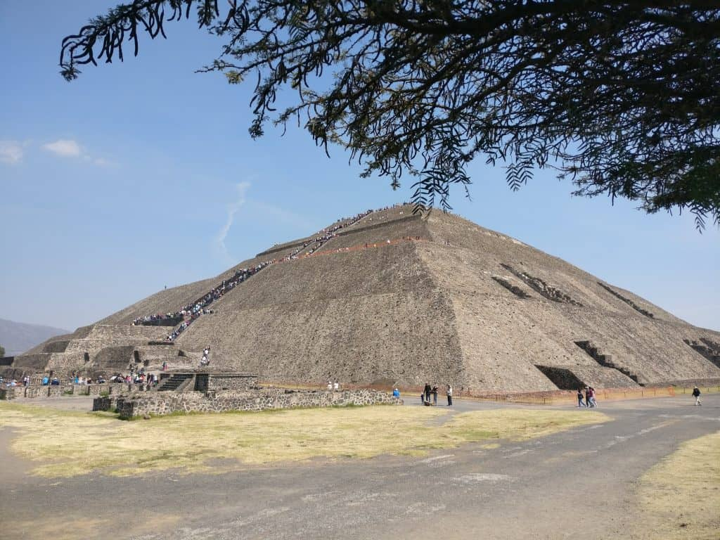 teotihuacan pyramid of the sun